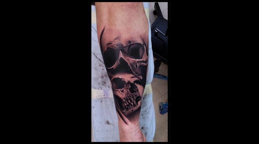 Skulls Forearm