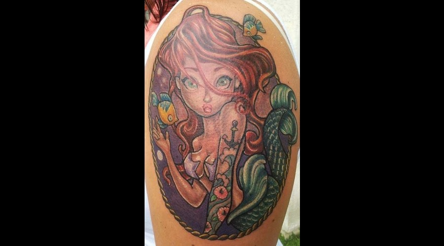 Ariel  Little Mermaid  Color  Disney Arm