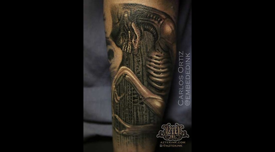 Giger  Horror Alien Creature Monster  Nightmare Evil Hrgiger  H.R. Giger  Arm