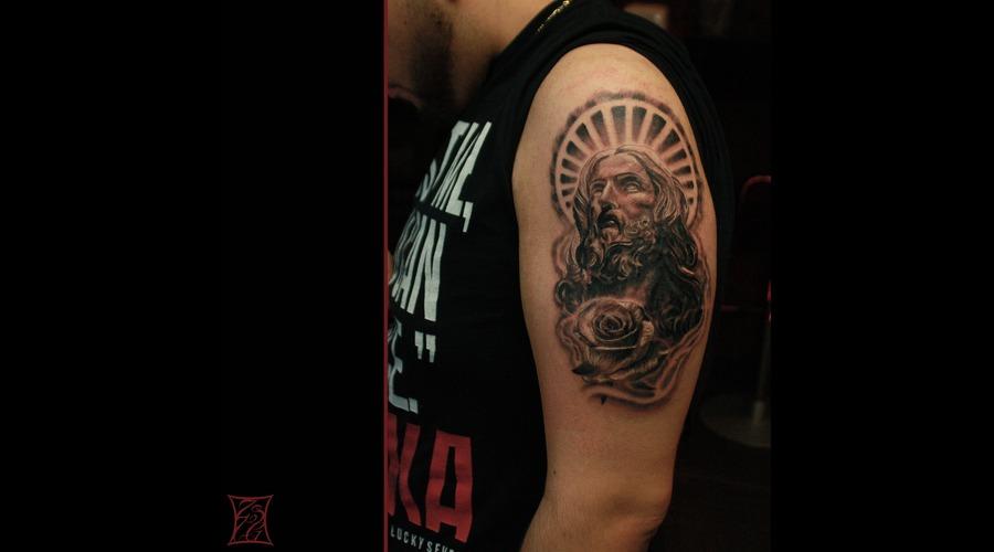 Tattooartist Montreal Gabor Zsil Arm