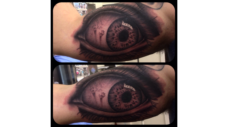 Realism Eye Eye Tattoo  Arm