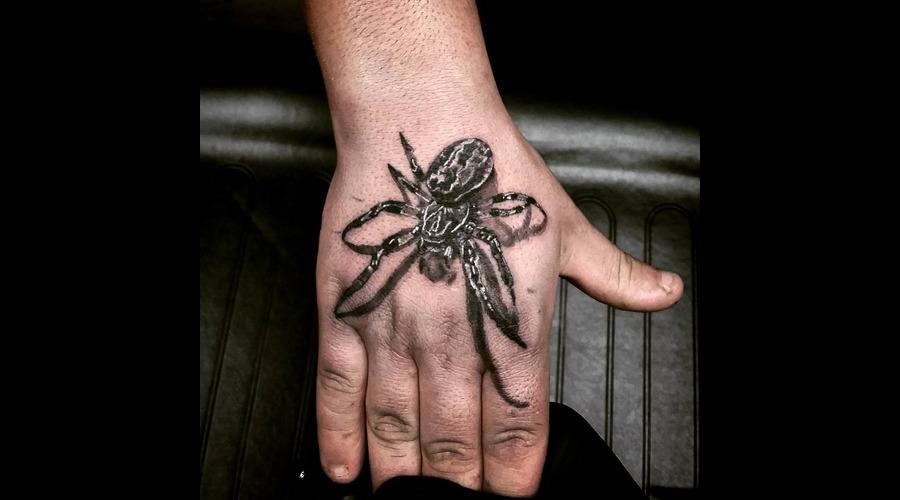 Spider Tattoo Arm
