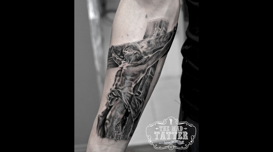 A Better Look At This Religious Tattoo  Forearm