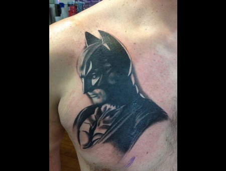 Batman  First Session   Christian Bale Chest