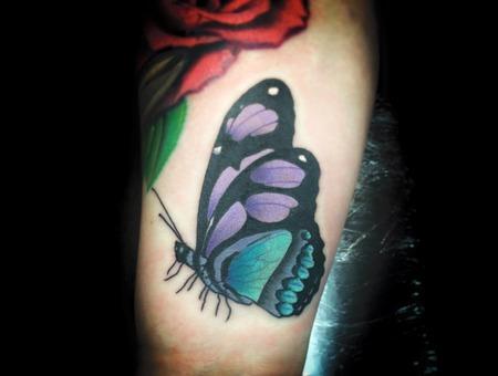 Color  Forearm  Custom  Butterfly Forearm