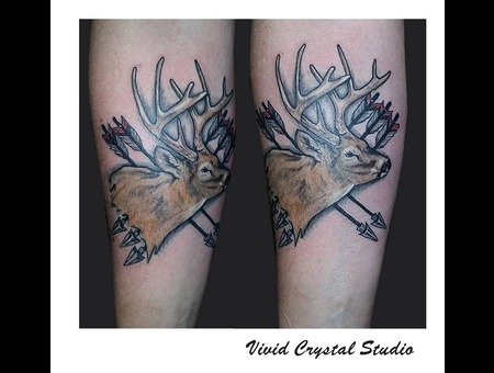 Deer Arrows Forearm