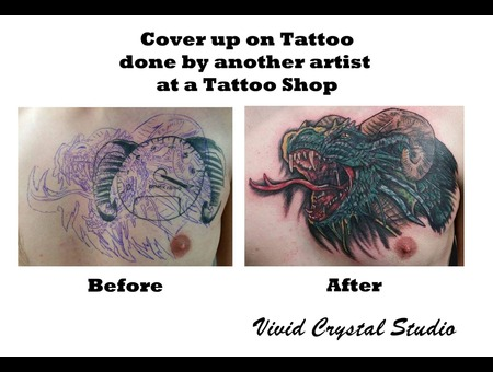 Dragon Coverup Chest