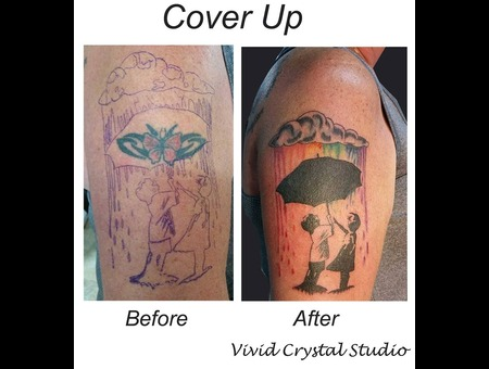 Coverup Rainbow Children Arm