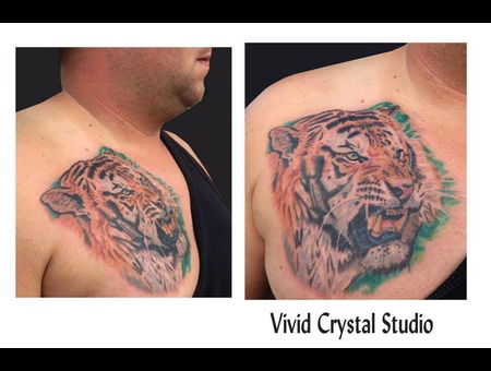 Tiger Realism Chest