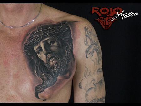 Realism  Portrait  Jesus Chest