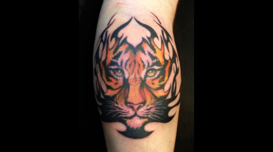 Tiger  Tribal  Realism  Realistic Forearm