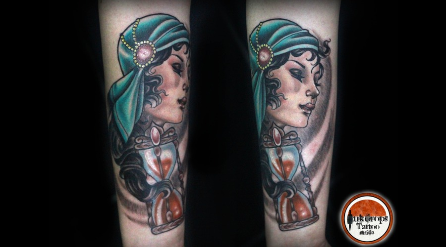 Gypsy  Time Sand   Forearm
