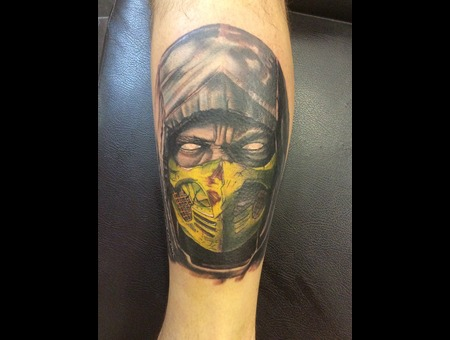 Scorpion By Angelo Lower Leg