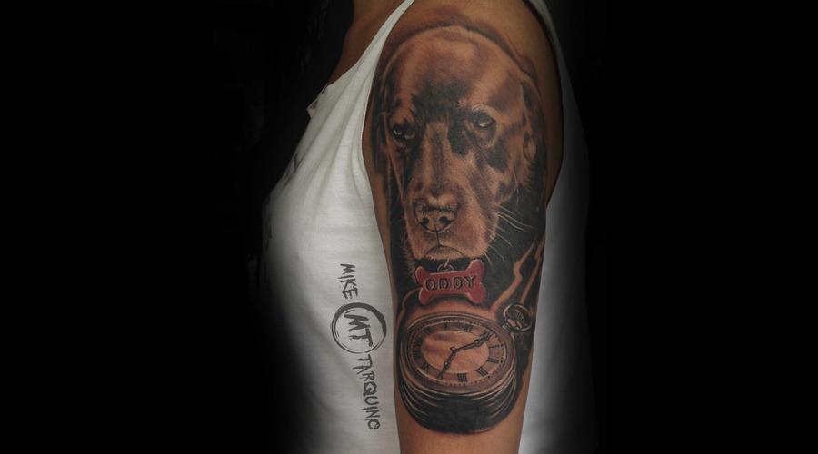 Dog  Tattoo  Ink