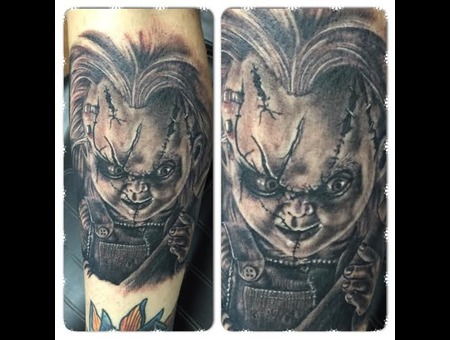 Chucky  Horror  Realism Thigh