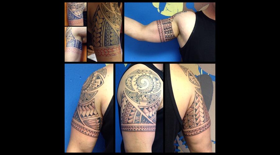 Polynesian  Freehand Shoulder