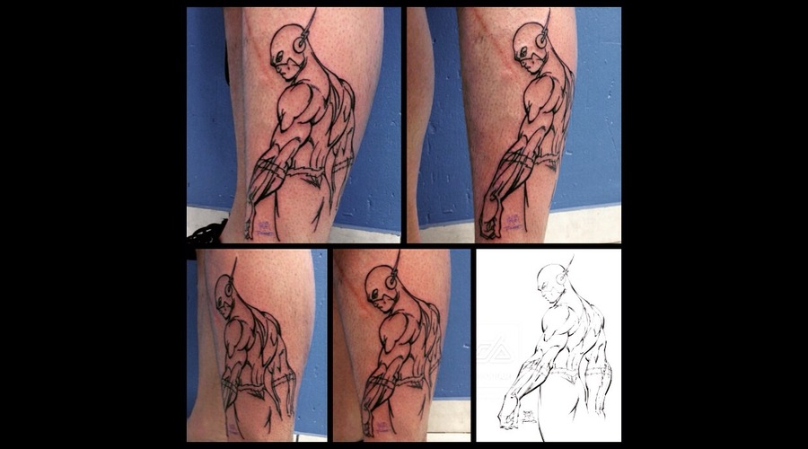 Outlines Lower Leg