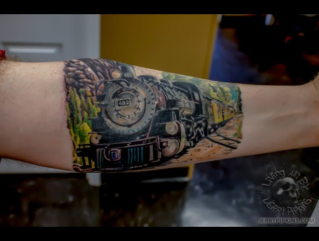 Realism  Train  Inprogress Forearm