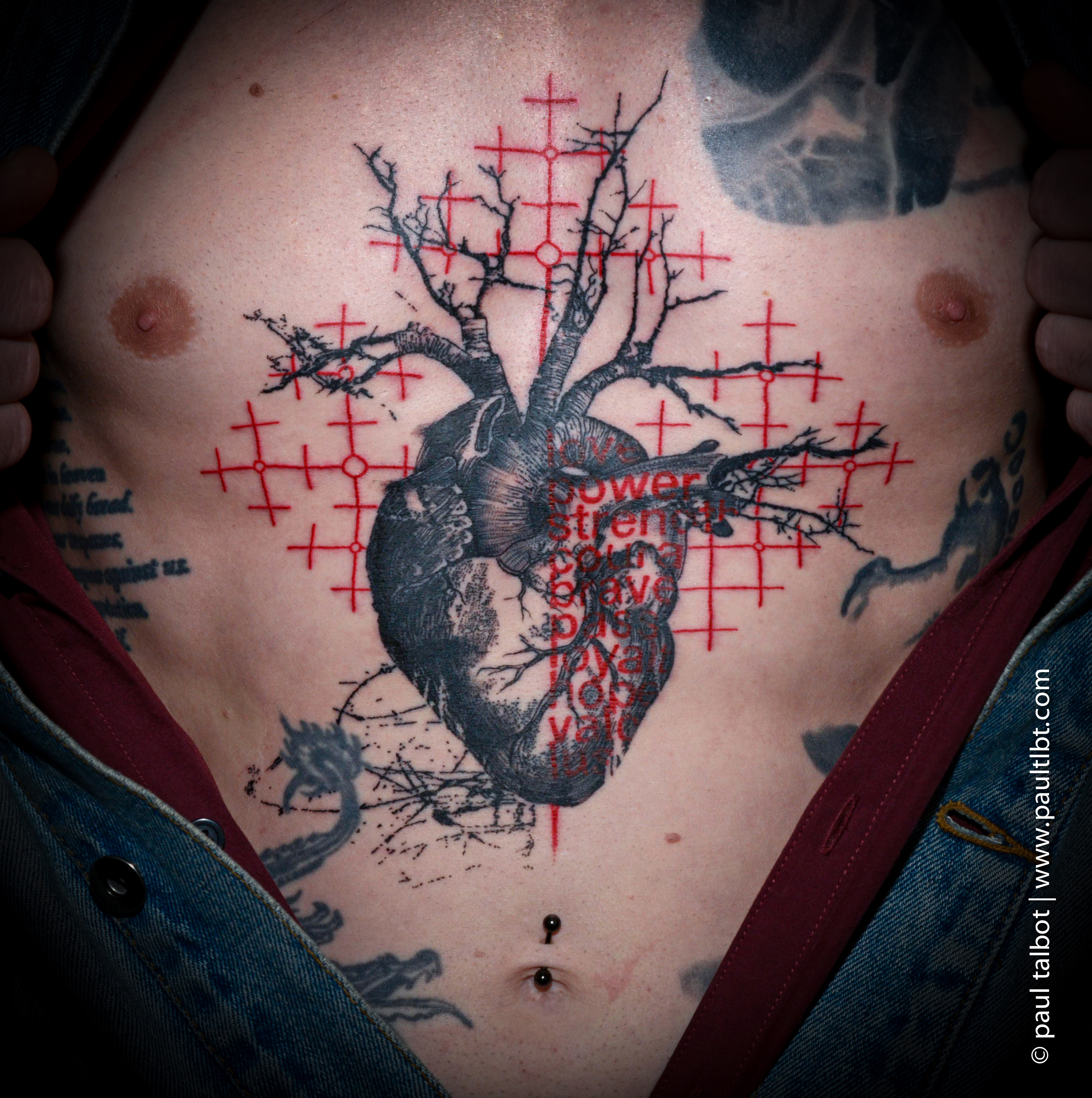 Hip Tattoo Placement Heart