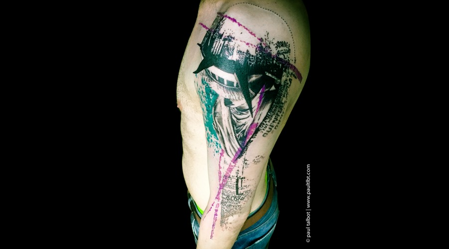 Colour Portrait  Graphical  Abstract  Realistic Trash Polka  Surrealisim  Arm