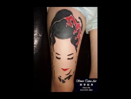 Geisha Thigh