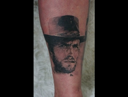 Leg  Realism  Clint Eastwood  Portrait  Wild West  Film Black Grey Lower Leg