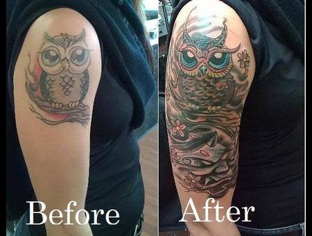 Owl  Woodland Creature Arm
