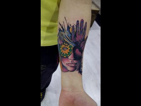 Surrealistic Arm
