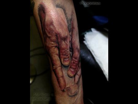 Hand Tattoo   Realism  Arm