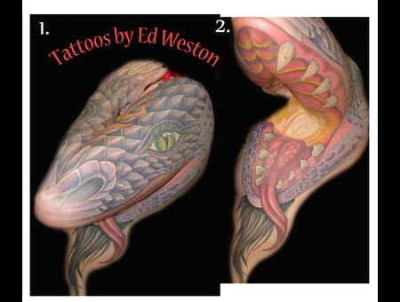 Large Dragon Color Sleeve Color