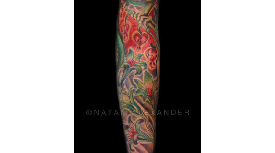 Flowers  Color  Sleeve   Arm