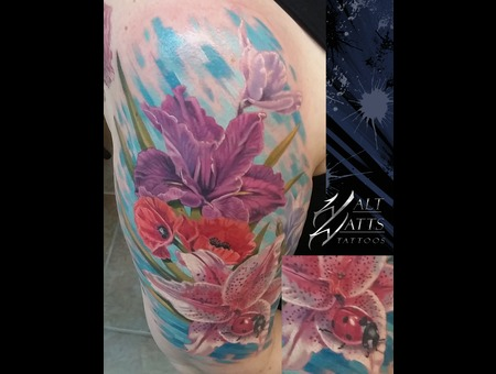Flower  Flowers  Ladybug  Arm