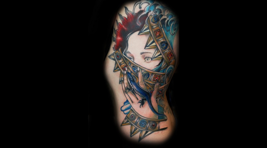 Illustrative  Color  Portrait   Ribs