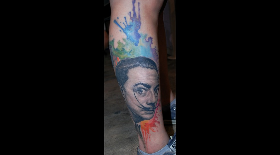 Portrait Realistic Dali Lower Leg