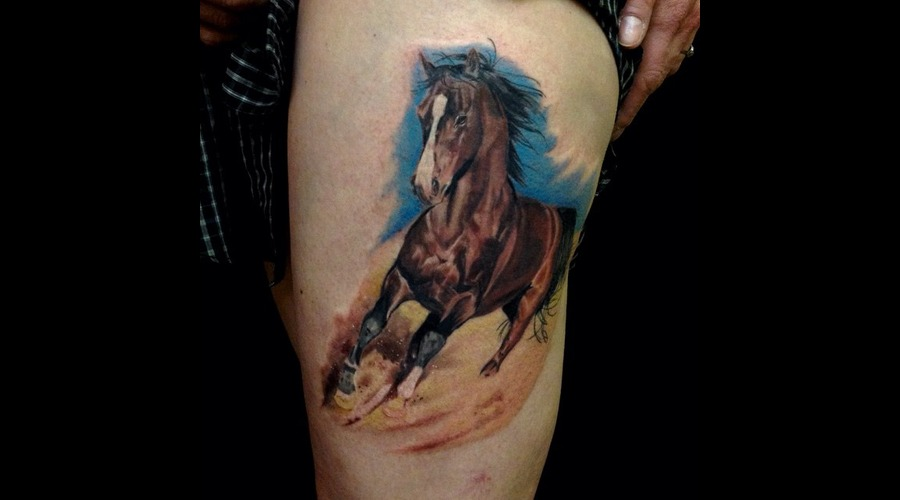 Horse  Realism Thigh