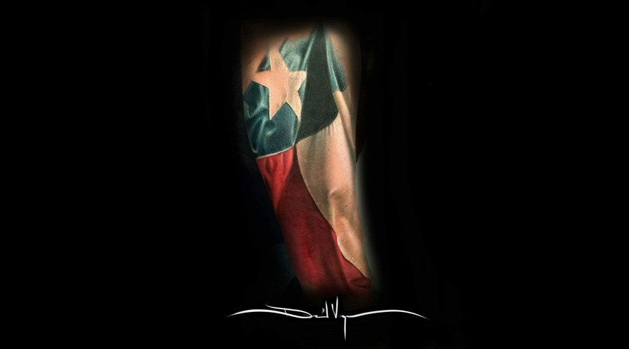 Texas  Flag Forearm