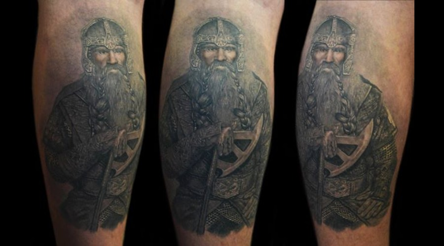 Gimli Lower Leg