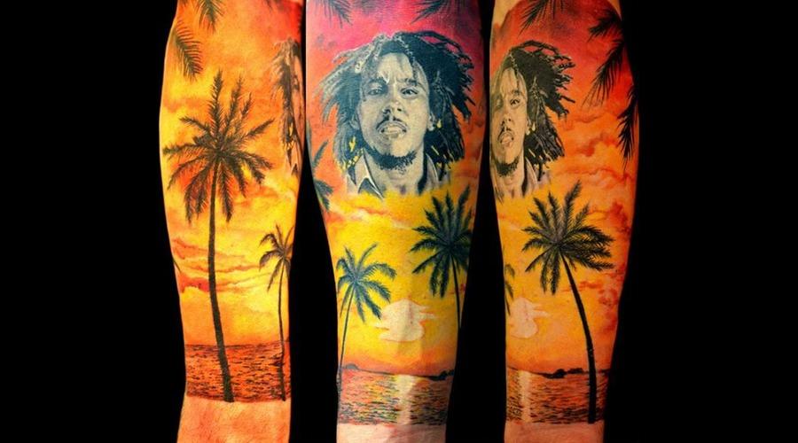 Bob Marley Forearm