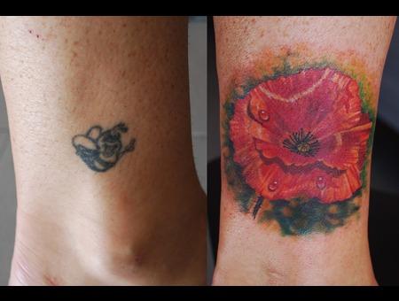 Coverup Colour Poppy Lower Leg