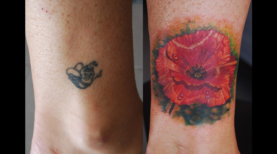Coverup Colour Poppy Lower Leg