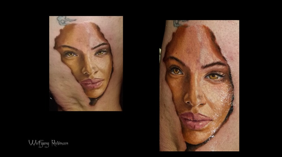 Female Color Portrait  Arm