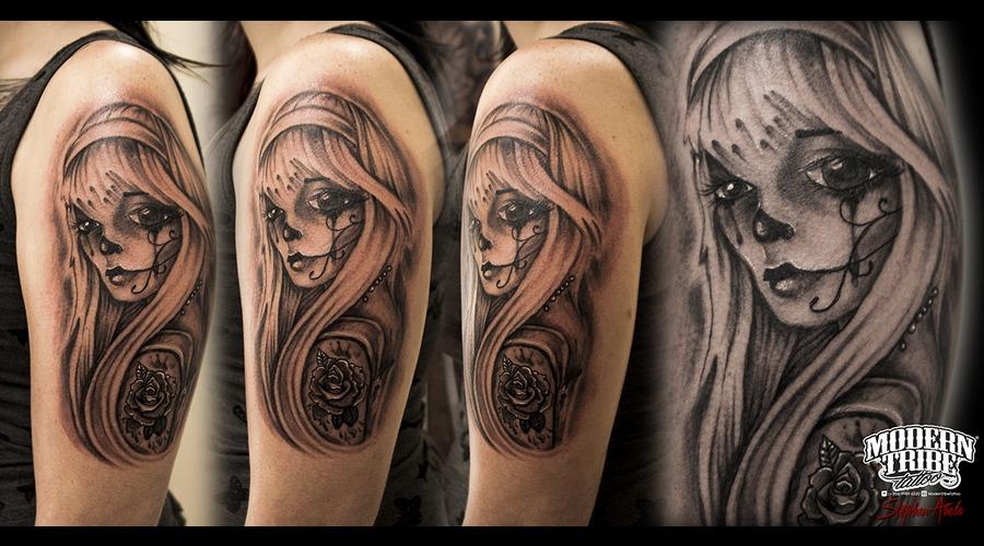 Goth Girl Arm