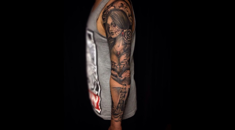 Sleeve  Pirate  Lighthouse  Realism  Realistic Arm