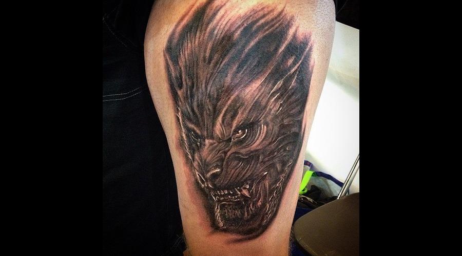 Warewolf  Realistic  Blackandgrey  Realism  Horror   Hip