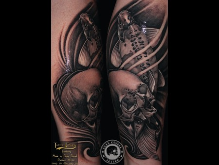 Skull Koifish Lower Leg