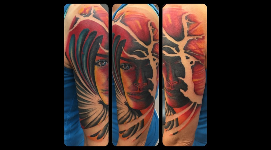 Color  Colour  Realism  Negative Space  Custom  Art   Arm