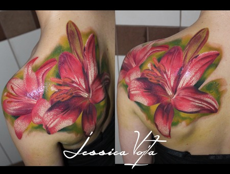 Lily Flower Shoulder
