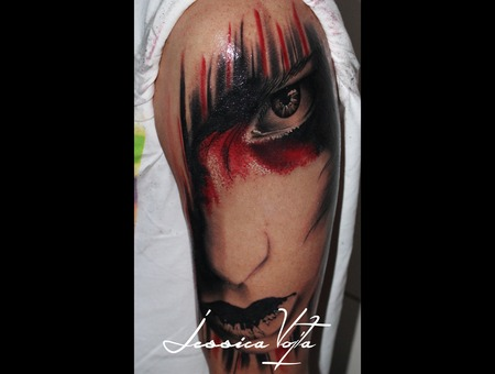 Woman  Painted Arm