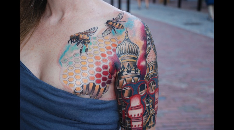 Bees  Geometric Arm