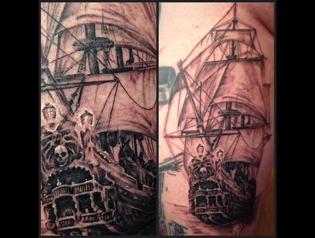Pirate  Pirate Ship  Ship Thigh
